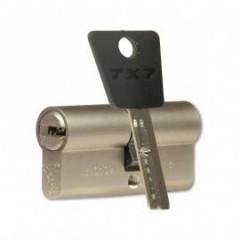 Цилиндровый механизм Mul-T-Lock Cylinder 7x7 80mm (40x40) (никель)